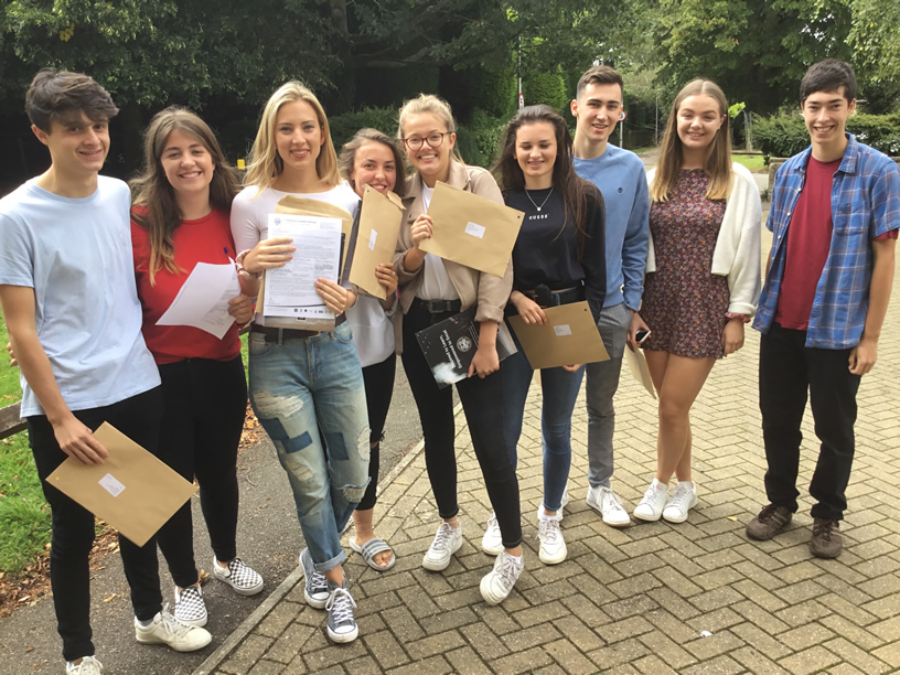 Successful A Level Candidates at Chipping Campden School