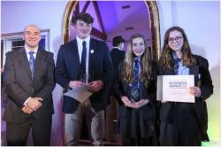 Students shine bright at Business Awards
